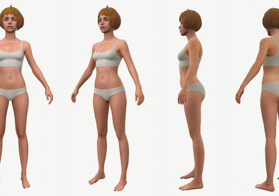 Character - Female Body Base