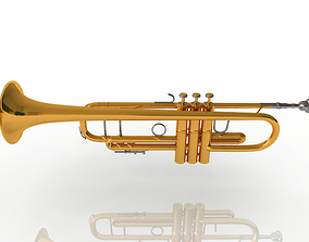 3D Bach 180S37 Stradivarius Bb Trumpet