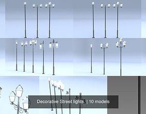 3D Decorative Street lights