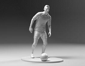 Footballer 03 Prepare To Footstrike 02 Stl 3D print model
