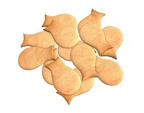 3D model Fish cookie