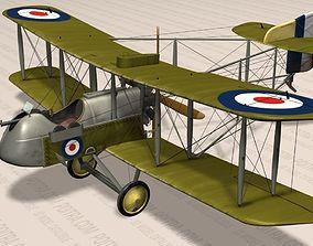 De Havilland DH 2 Fighter Aircraft - WWI - 1916 - Lt 3D 2