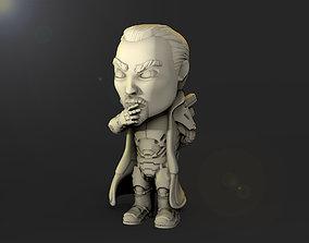 3D print model Sun tzu Scifi Chibi