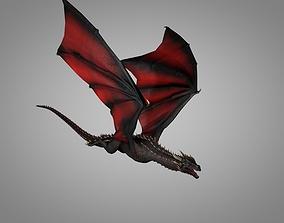 Dragon 3D asset animated VR / AR ready