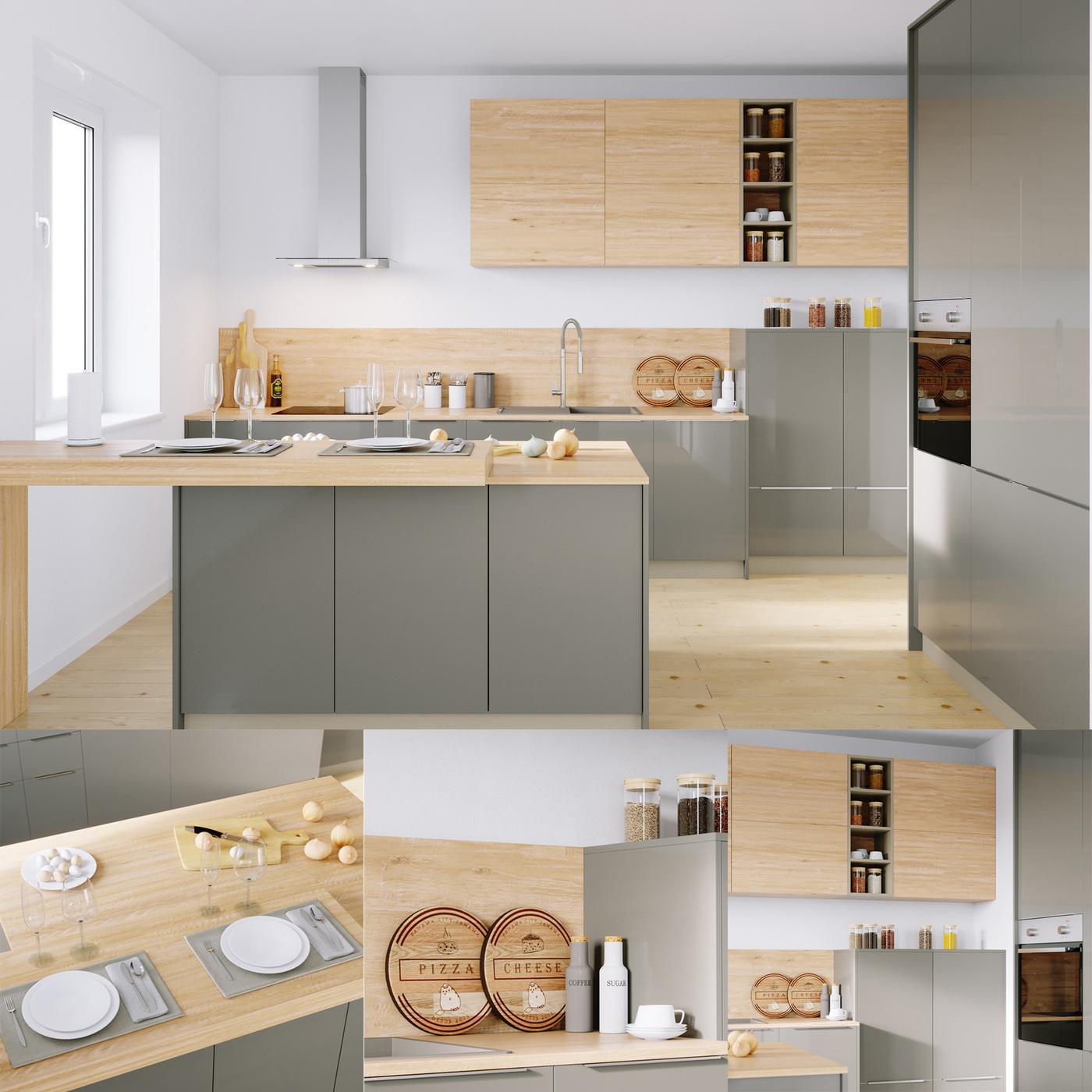 Kitchen Nolte Corona 19Q   Legno 59C