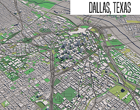 Dallas Texas 3D model