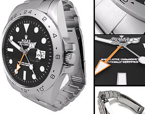 Watch Rolex Oyster Perpetual Date Explorer II 3D model
