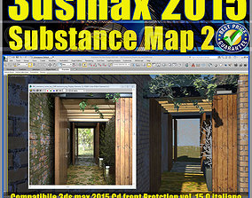3ds max 2015 Substance Map volume 15 Italiano cd