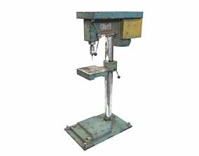 Drill machine 3D asset VR / AR ready PBR