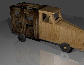 wood van 3D printable model