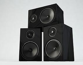 Speaker 3D music