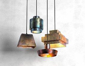 Lustre Pendant Lamp 3D