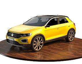3D model Volkswagen T-Roc 2018