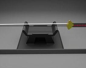 tang dao katana prototype 3D