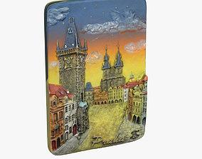 3D print model Prague Magnet Souvenir