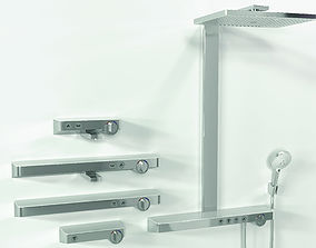 3D Hansgrohe ShowerTablet Select