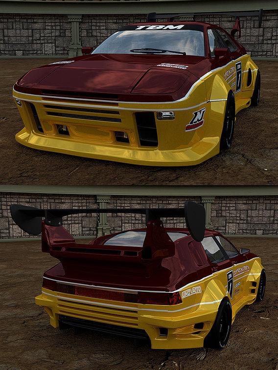 TBM FL-6 964 RACE CAR
