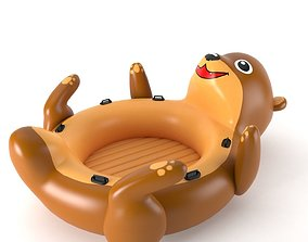 Inflatable Otter 01 3D