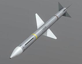 AIM-7M Sparrow 3D asset