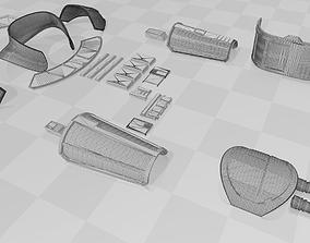 3D printable model STAR WARS - CARA DUNE ARMOR VER 4 - FOR