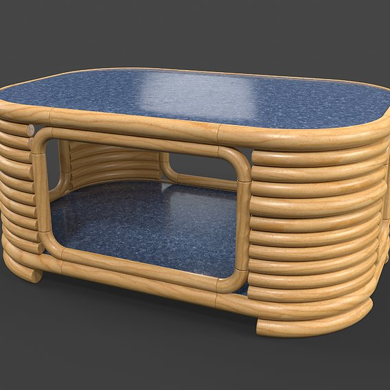Rattan Table - Atlas