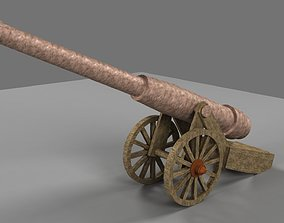 other 3D model Cannon