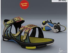 Shoe 7 for man 3D asset