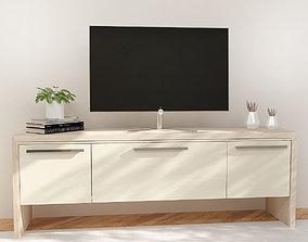 TV COMMODE living-room 3D