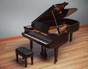 Grand Piano furniture 3D