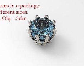 Jewelry Prong Head 3D print model 2