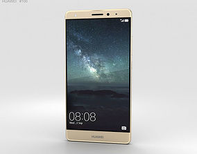 3D Huawei Mate S Luxurious Gold