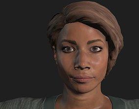 Black women 3D asset