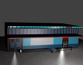 Store front 3D model
