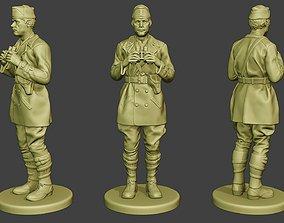 3D printable model Italian Tank Crew Unit ww2 Action2