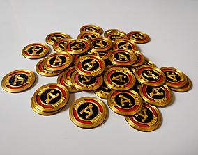 3D printable model Apex coins - single nozzle - 4