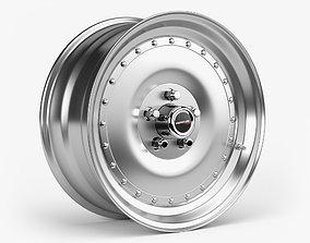3D model Centerline Auto Drag Wheel