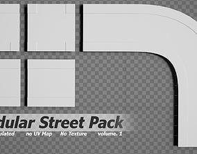 Modular Street pack volume 1 3D