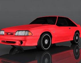 1993 Ford SVT Mustang Cobra 3D asset