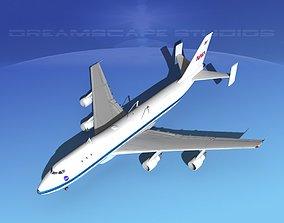 3D model Boeing 747-100 NASA Shuttle Carrier