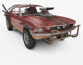 Post Apocalyptic Car 3D model