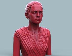 3D printable model Rey Skywalker