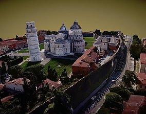 3D Piazza dei Miracoli - Pisa - Videogrammetry scan