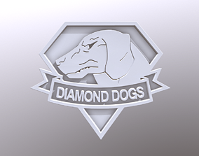 Diamond Dogs Pendant from Metal Gear Solid 3D print model