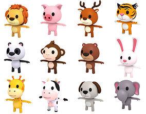 Little Animal Pack 3D model