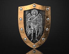 3D printable model Archangel Michael Shield
