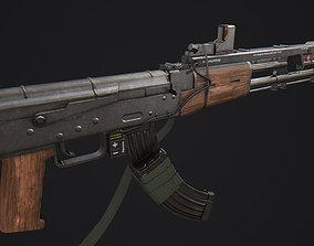 3D asset Elysium AK Rifle