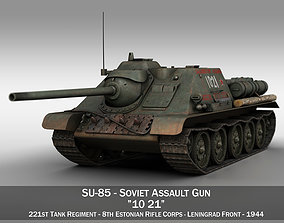 SU-85 - 1021 3D