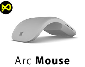 New Microsoft Surface Arc Mouse 3D model