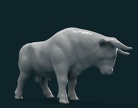miniature Bull 3D Model