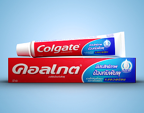 3D toothbrush Toothpaste